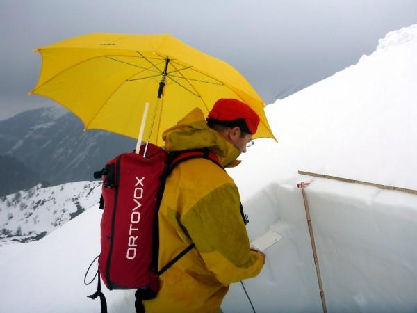 Schneefeuchtemessungen