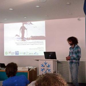 Vortrag bei einem Workshop am SLF